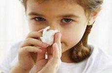 Причины и лечение насморка у детей