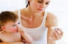 Первая помощь при высокой температуре у детей