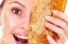 Как сделать маску из меда
