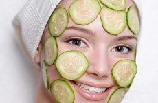 Как сделать огуречную маску для лица