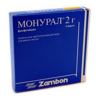 Монурал препарат лечение цистит