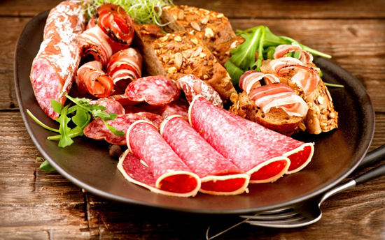 продукты с высоким содержанием животных жиров