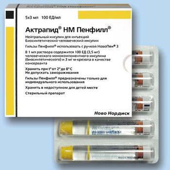 препараты инсулина диабет
